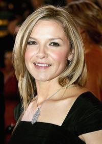 Justine Clarke at the 2006 TV Week Logie Awards.