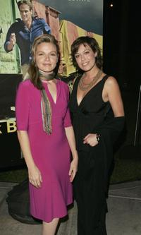 Justine Clarke and guest at the US premiere of