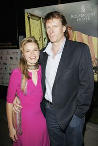 Justine Clarke and William McInnes at the US premiere of