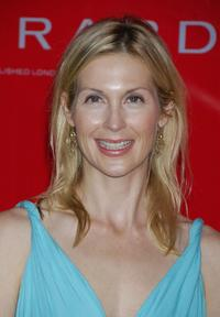 Kelly Rutherford at the celebration of the opening of Garrard flagship store.