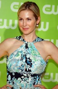 Kelly Rutherford at the CW Television Critics Association Press Tour party.