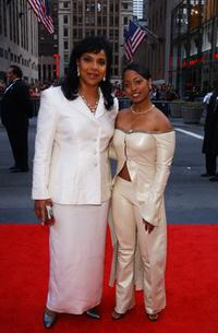 Phylicia Rashad and Keshia Knight Pulliam at the NBC 75th Anniversary celebration.