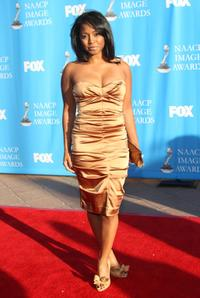Keshia Knight Pulliam at the 39th NAACP Image Awards.
