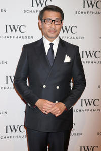 Kiichi Nakai at the IWC Schaffhausen Race Night during the Salon International de la Haute Horlogerie (SIHH) 2013.