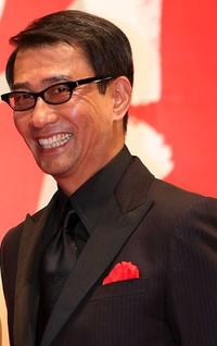 Kiichi Nakai at the 20th Tokyo International Film Festival (TIFF).