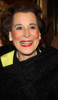 Kitty Carlisle Hart at the opening night of