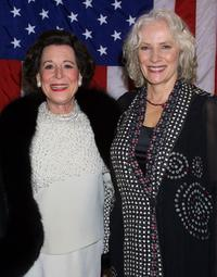 Kitty Carlisle Hart and Betty Buckley at the musical tribute