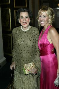 Kitty Carlisle Hart and Heather Randall at the National Actors Theater Benefit