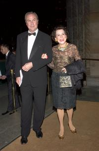 Robert Wilson and Kitty Carlisle Hart at the 7th Annual National Arts Awards.