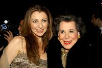 Donna Murphy and Kitty Carlisle Hart at the after party of the opening night of