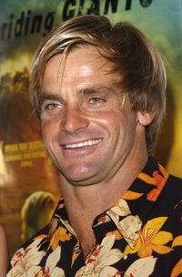 Laird Hamilton at the premiere of