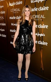 Manuela Velasco at the 2009 Marie Claire Prix de la Moda Awards.