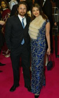 Martin Henderson and Aishwarya Rai at the UK premiere of