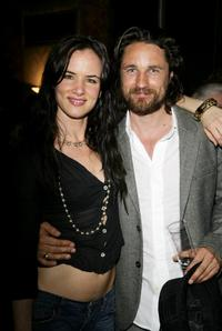 Juliette Lewis and Martin Henderson at the after party following the UK premiere of