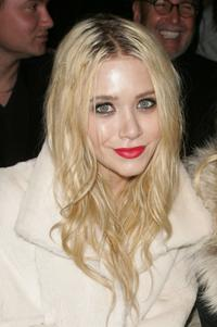 Mary-Kate Olsen at the Jenni Kayne Fall 2007 fashion show during the Mercedes-Benz Fashion Week.