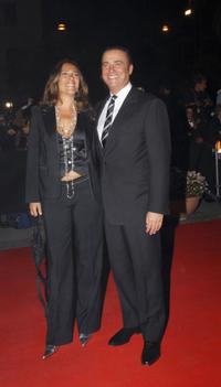 Paola Romano and Massimo Ghini at the opening night of Rome Film Festival.