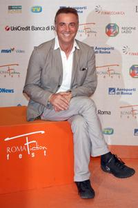 Massimo Ghini at the Roma Fiction Fest 2008.