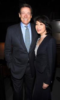 Maury Povich and Connie Chung at the Jonathan Tisch Celebrates