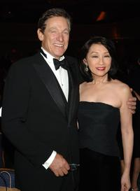 Maury Povich and his wife Connie Chung at the 2006 New York Emmy Awards.