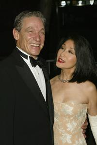 Maury Povich and Connie Chung at the 31st Annual Daytime Emmy Awards.