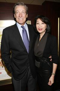 Maury Povich and Connie Chung at the New York special screening of