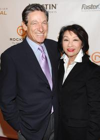 Maury Povich and Connie Chung at the Esquire Magazine Honors Sumner Redstone.