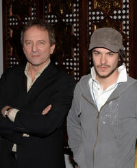 Michel Cote and Marc Andre Grondin at the photocall of
