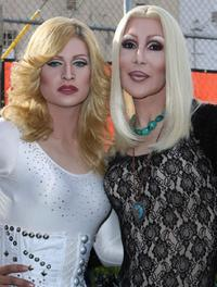 Cher and Madonna at the 37th Annual L.A. Pride Festival.