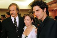 Patrick Chesnais, Brigitte Rouan and Boris Terral at the 50th International Cannes Film Festival.