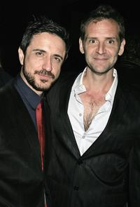 Craig Chester and Malcolm Gets at the Hollywood after party premiere of