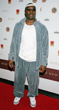 Morris Chestnut at the Tao nightclub in Las Vegas.