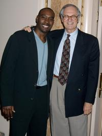 Morris Chestnut and Alan Alda at the screening of