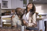 Morris Chestnut as Dave Johnson and Taraji P. Henson as Clarice Clark in