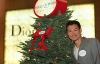 Jacky Cheung at the 8th anniversary of Make-A-Wish charity campaign.