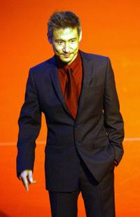 Jacky Cheung at the 14th Golden Melody Awards.