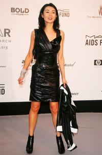 Maggie Cheung at the Cinema Against Aids 2007 in aid of amfAR at Le Moulin de Mougins in Mougings.