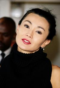 Maggie Cheung at the Hong Kong Party at Carlton Beach during the 60th International Cannes Film Festival.