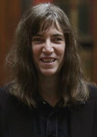 Patti Smith at the US Punk Rock Star Patti Smith Shows Exhibition Of Art Work.