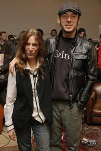 Patti Smith and her son Jackson at the