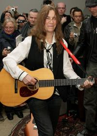 Patti Smith at the