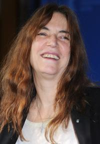 Patti Smith at the photocall of