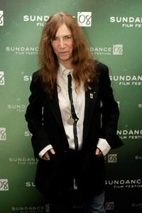 Patti Smith at the premiere of