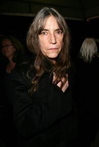 Patti Smith at the Opening Night of