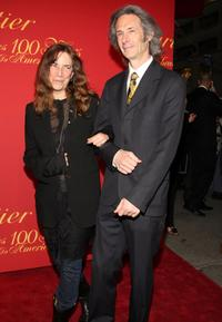 Patti Smith and Lenny Kaye at the Cartier 100th Anniversary in America Celebration.