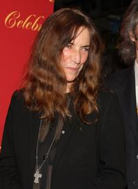 Patti Smith at the Cartier 100th Anniversary in America Celebration.