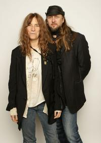 Patti Smith and Steven Sebring at the 2008 Sundance Film Festival.