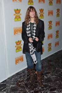 Patti Smith at the Lunchbox Hunger Relief Benefit.