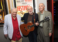 Director Murray Lerner, Peter Yarrow and AMPAS NY Events Committee Chair Bud Rosenthal at the AMPAS' Monday Nights with Oscar premiere of