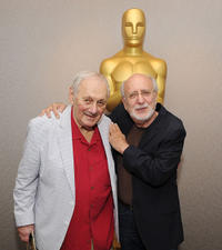 Director Murray Lerner and Peter Yarrow at the AMPAS' Monday Nights with Oscar premiere of