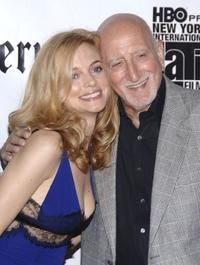 Dominic Chianese and Heather Graham at the New York International Latino Film Festival after party for